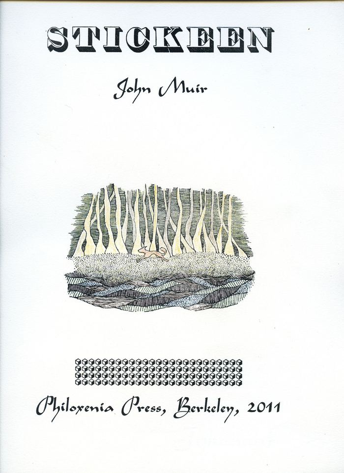 Stickeen – John Muir (Philoxenia Press)