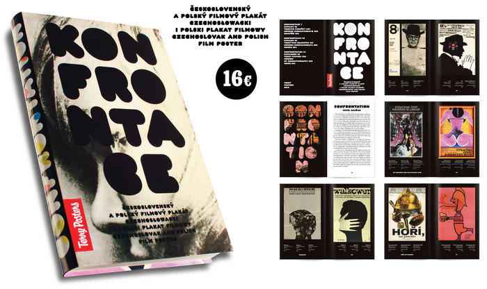 Konfrontace exhibition poster and catalog 1
