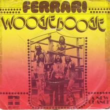 "Ferrari – ""Woogie Boogie"" single cover"