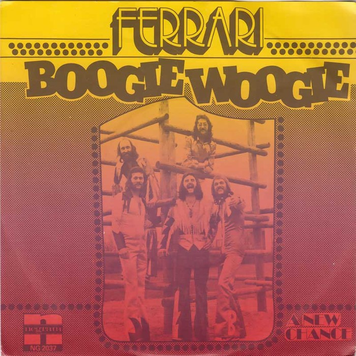 "Many sources show this sleeve variation with Beton Extra Bold used for the title. Was this the original design that got replaced because it accidentally says ""Boogie Woogie"" instead of ""Woogie Boogie""?"