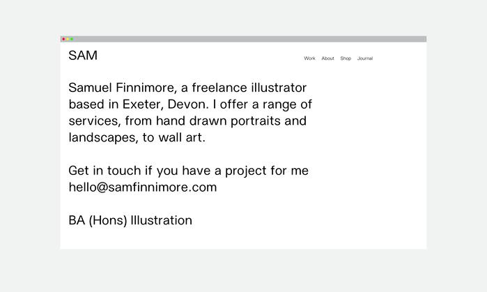 Sam Finnimore Illustrations 1