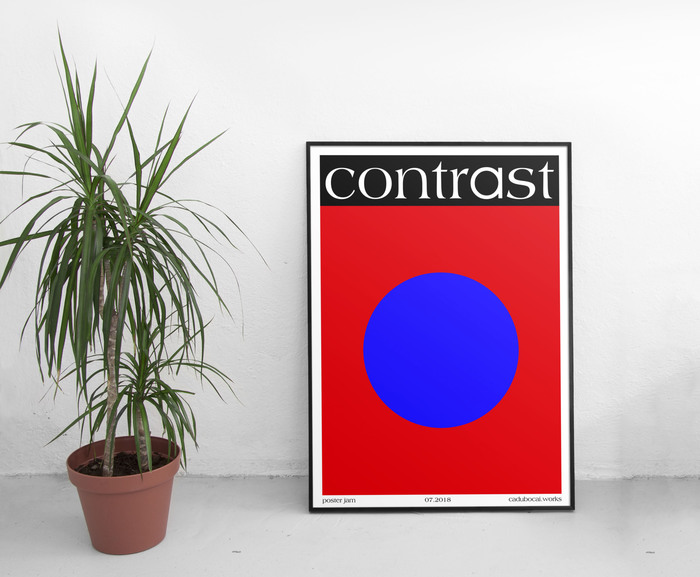 Contrast poster 1