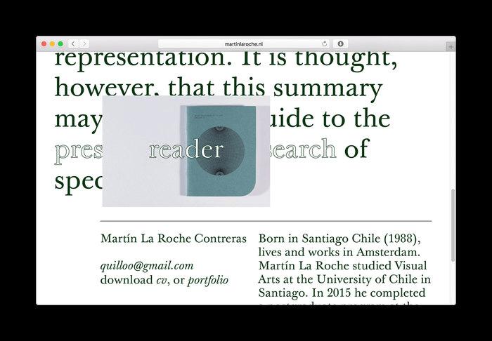 Website Martín La Roche Contreras 5