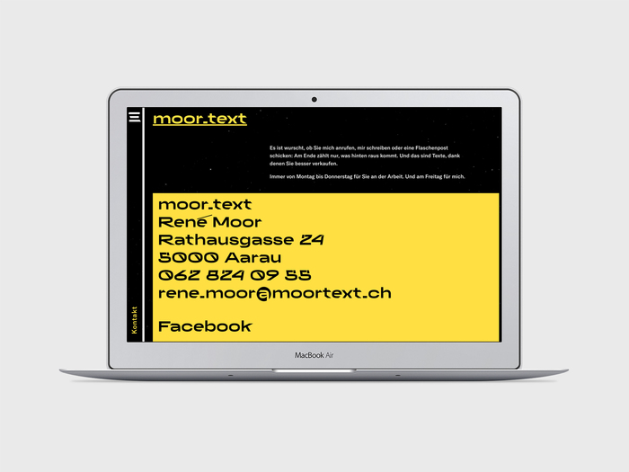 moor.text website 6