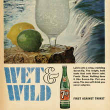 """Wet & Wild"" ad for Seven-Up"