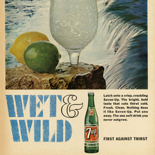 """Wet & Wild"" ads for Seven-Up"