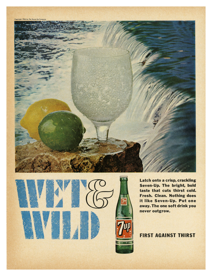 """Wet & Wild"" ads for Seven-Up 1"