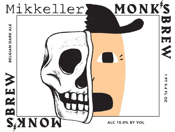 The Mikkeller logo appears to be a hand-rendered version of Courier New. The sans serif is yet unidentified.