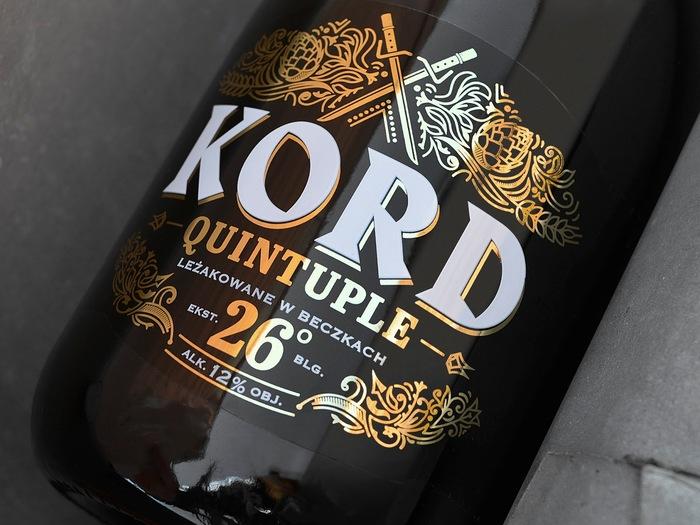 Kord Quintuple beer 1
