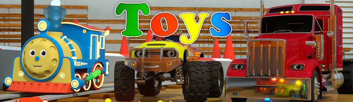 Max the Glow Train (Toys) 1