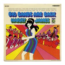 Harry James – <cite>Big Bands Are Back</cite> album art
