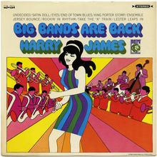Harry James – <cite>Big Bands Are Back</cite> album art