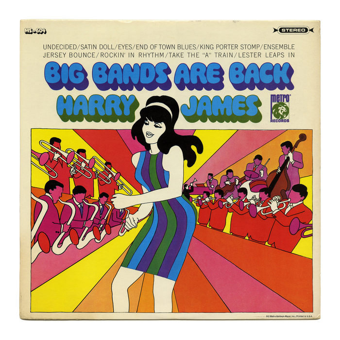 Harry James – Big Bands Are Back album art