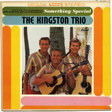 The Kingston Trio – <cite>Something Special</cite>  album art
