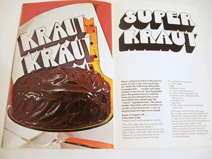 Super Kraut. On the left: Some hand-rendered Ginger Snap.