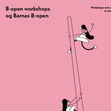 B-Open Art Festival identity (2018)