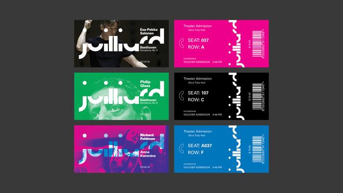 The Juilliard School rebrand (fictional) 4
