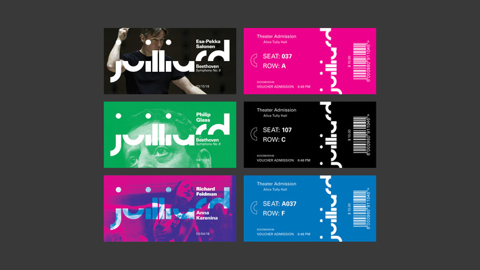 The Juilliard School rebrand (fictional) 4