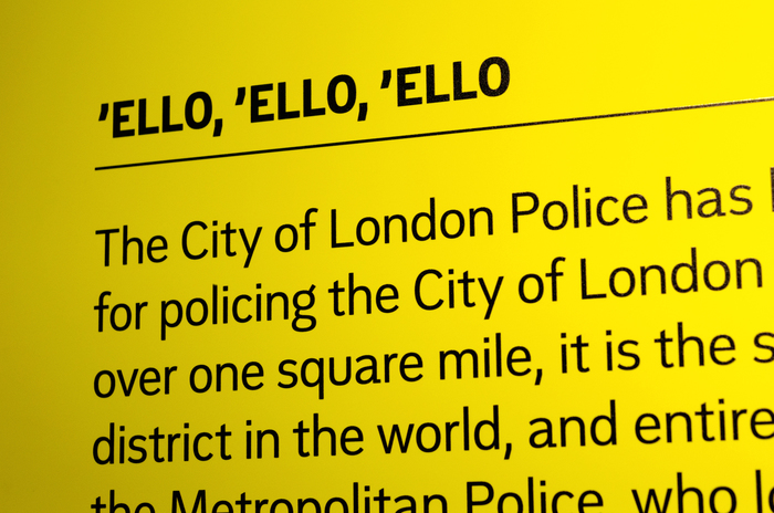 City of London Police Museum 1