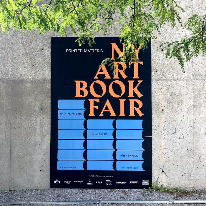 New York Art Book Fair 2018 1