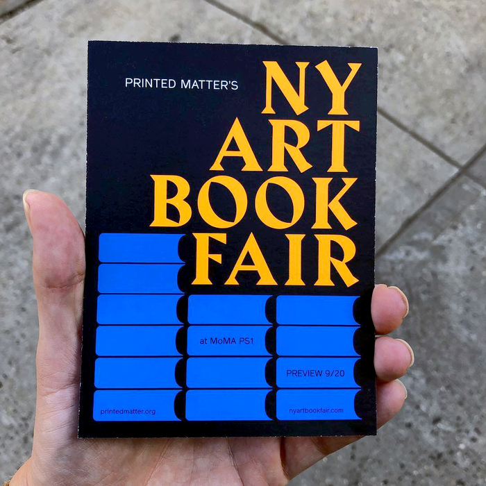 New York Art Book Fair 2018 3