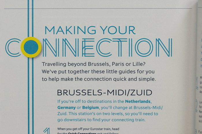 Eurostar magazine with Aspect and Pembroke
