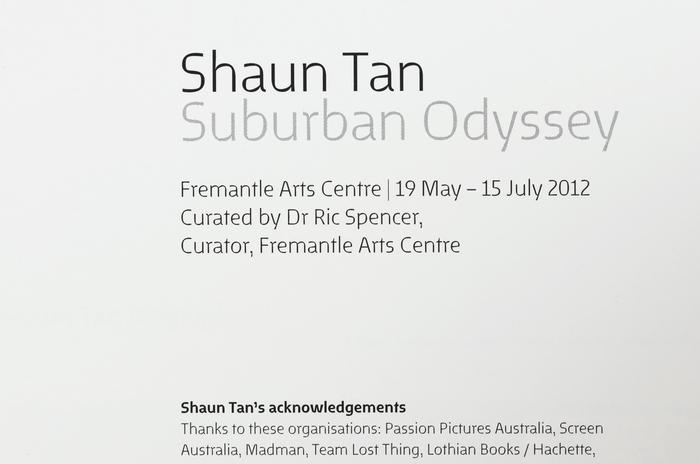 Shaun Tan: Suburban Odyssey 2