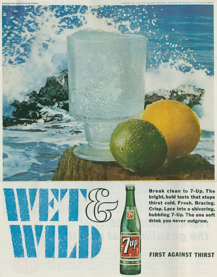 """Wet & Wild"" ads for Seven-Up 5"