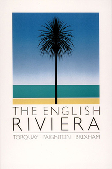 The English Riviera tourism posters