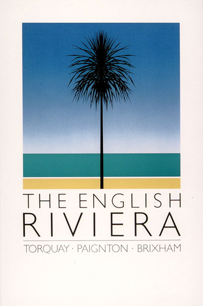 The English Riviera tourism posters 1