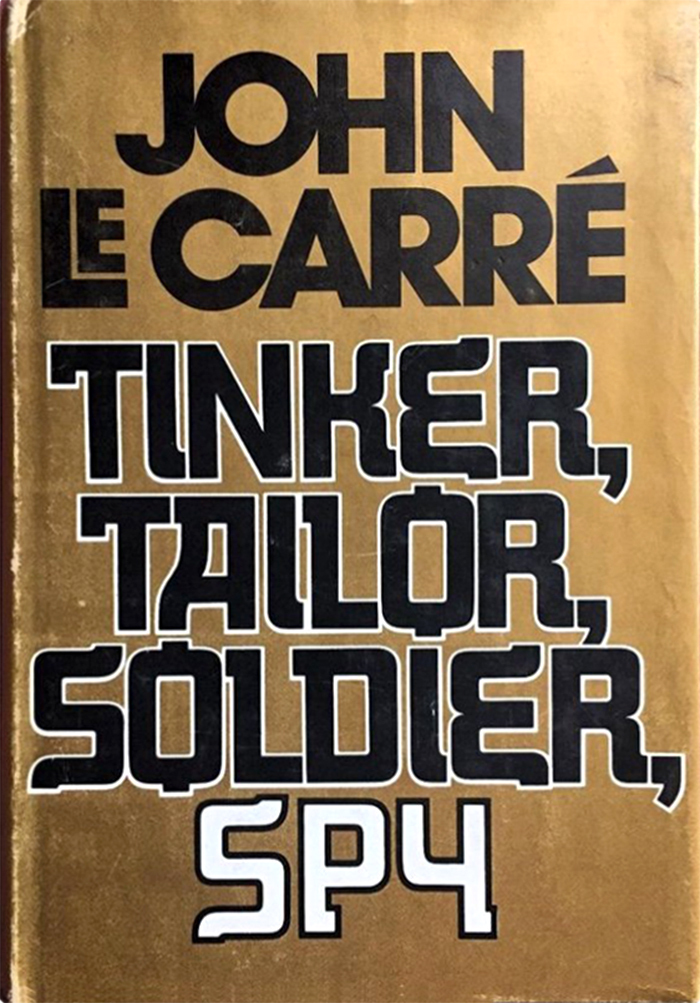 Tinker, Tailor, Soldier, Spy by John le Carré 1