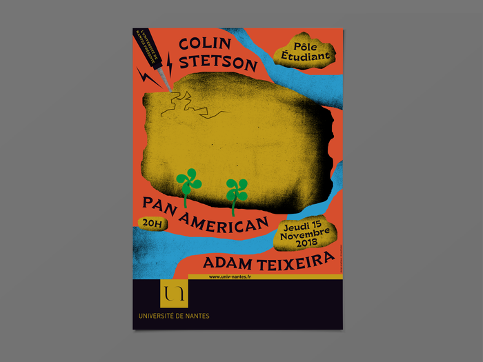 Colin Stetson, Pan American and Adam Teixeira at Pôle Étudiant 2