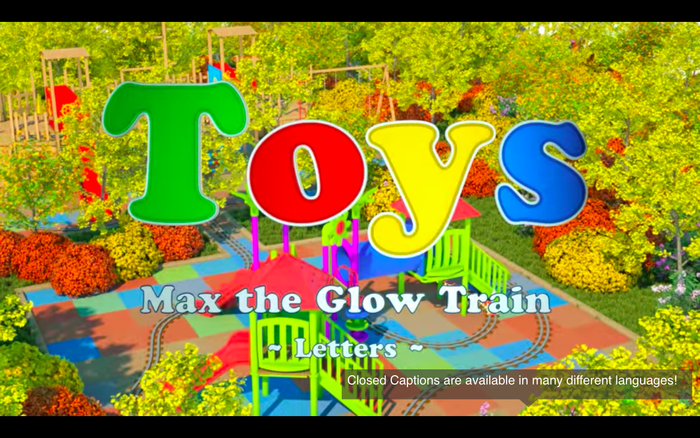 """Title card from the """"Letters"""" episode."""