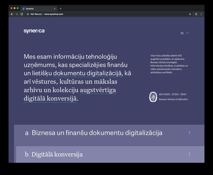 Synerica 2
