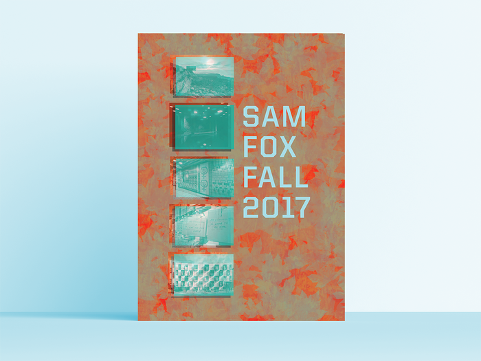 Sam Fox fall events calendar 2