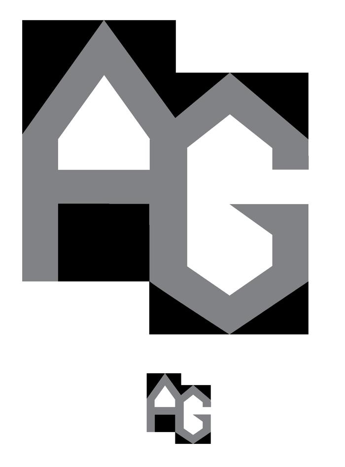 Alexander Girard monogram business card (fictional) 4