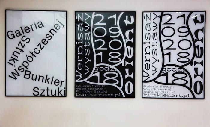 The corporate typeface of Galeria Sztuki Współczesnej Bunkier Sztuki is Px Grotesk.