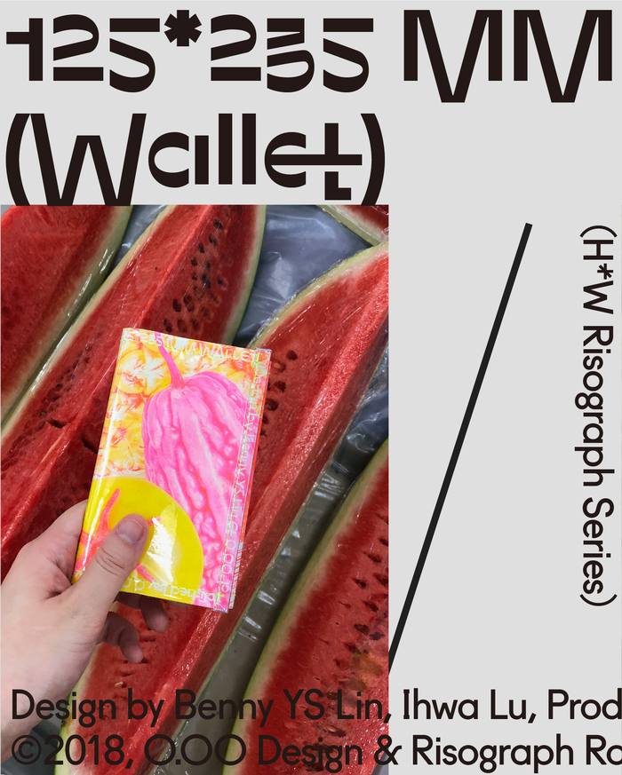 Wallet & plastic tote by O.OO 5