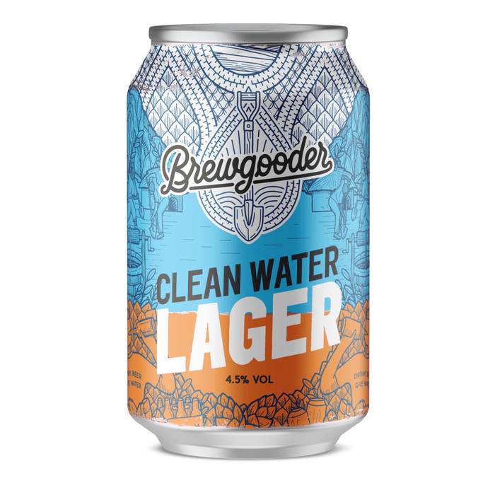 Brewgooder Clean Water Lager 1