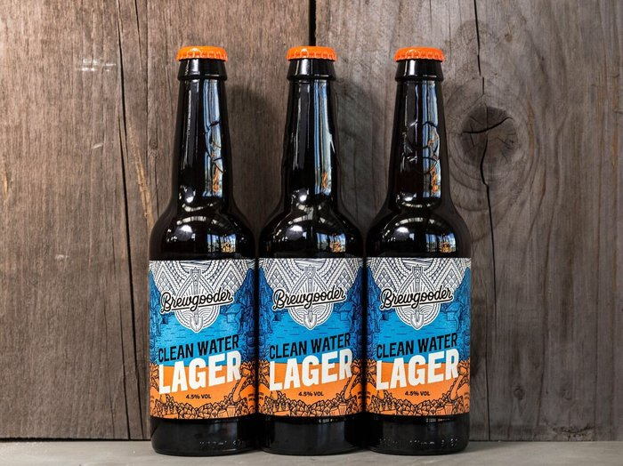 Brewgooder Clean Water Lager 3