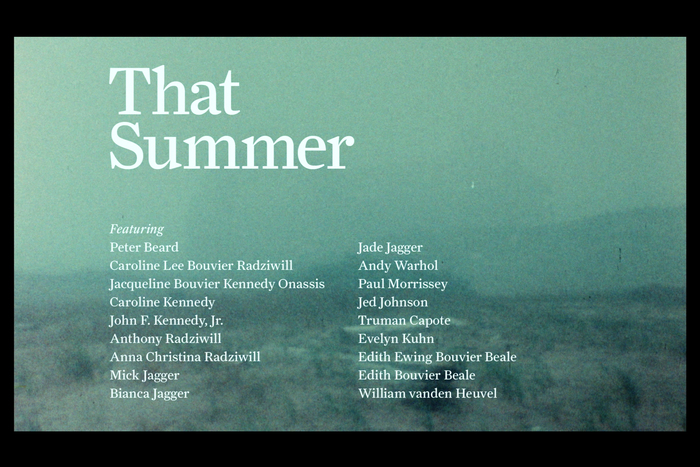 That Summer (2017) opening titles 6