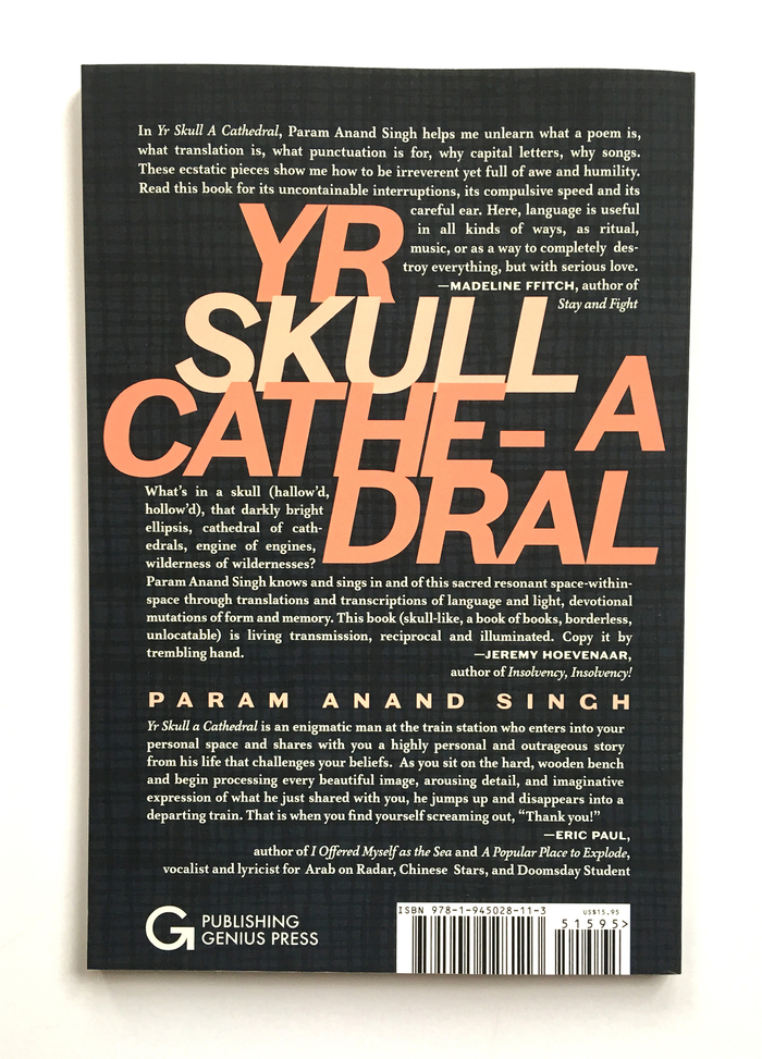 Yr Skull a Cathedral / Psychic Arpeggiator — Param Anand Singh 5