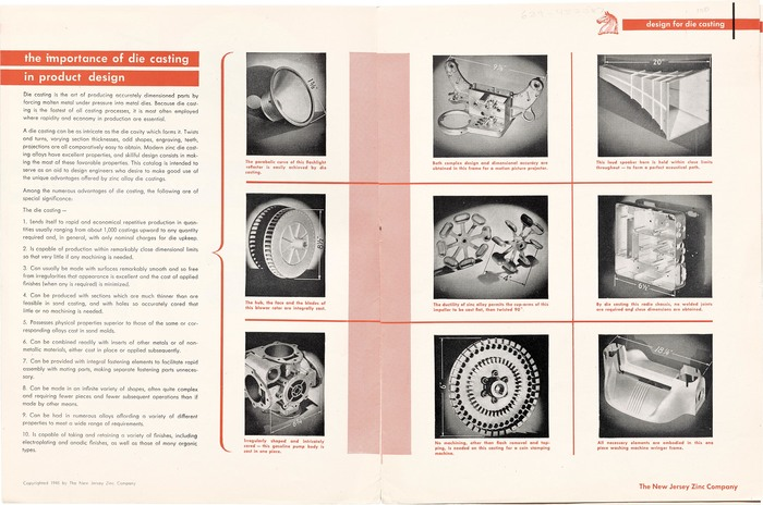 """Design for Die Casting"" brochure 2"