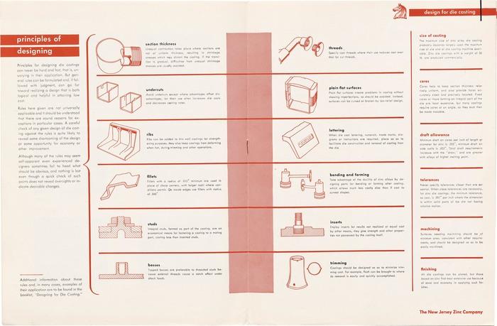 """""""Design for Die Casting"""" brochure 3"""