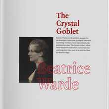<cite>I'm With Her / The Crystal Goblet</cite>