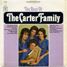 The Carter Family – <cite>The Best Of</cite> album art