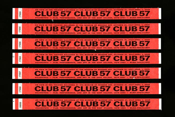 Club 57 at MoMA 6