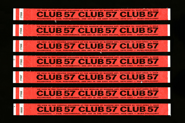 Club 57 at MoMA 6