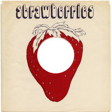 Strawberries record sleeve
