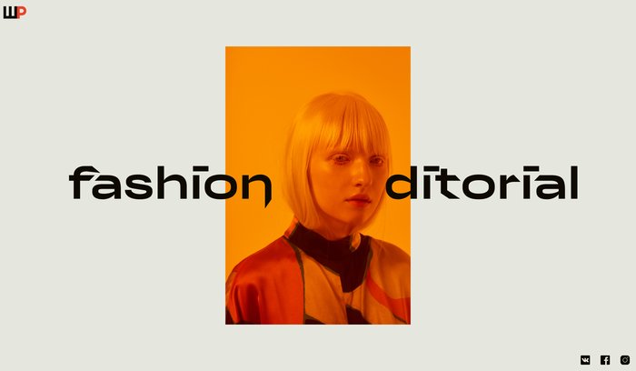 Rodchenko Art School: Fashion Editorial 1